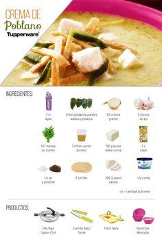 ¿Cómo preparar una rica Crema de poblano?