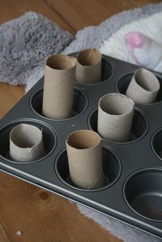 Baby Play: Muffin Tin Sorting - The Imagination Tree