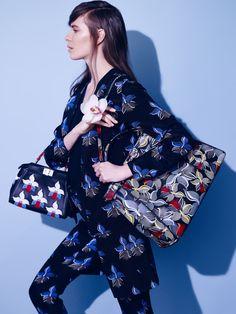 Sasha Dmitrieva by Alexey Kolpakov for Vogue Russia April 2015 fendi