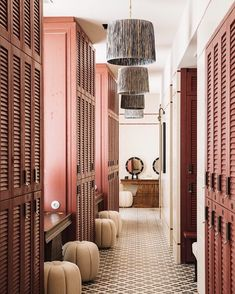 Pretty pink spaces in Soho House Barcelona   Ladies only  [ @ad_spain ] #SohoHouseBarcelona #Barcelona #Decoration