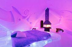 Ice Suite – Hôtel de Glace