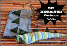 DIY Dinosaur Costume