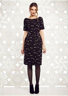 Black Eva Dove Dress