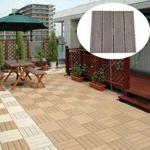 Outdoor anti-corrosion wood flooring