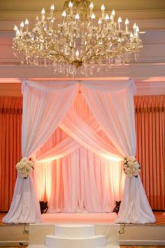 x x white square wedding pavillion including white drape and pipe stand wedding stage decoration Purple Wedding Centerpieces, Wedding Stage Decorations, Altar Design, Pipe And Drape, Wedding Mandap, Marie, Bridal, Aubergine Wedding, Chuppah