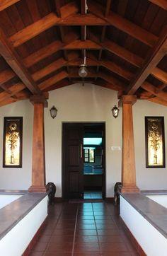 House Window Design, Village House Design, House Design Photos, Indian Home Design, Kerala House Design, Kerala Traditional House, Traditional Homes, Chettinad House, Indian House Plans