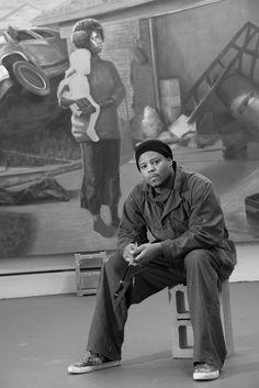 African American Men, American Art, Museum Exhibition, Art Museum, Artist Workspace, Art Hub, Artistic Installation, Personal Identity, People Of Interest