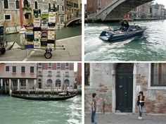 I find Venice to be a magical place. From the car-less streets to the hundreds of bridges, Venice.