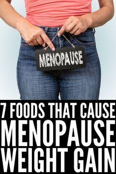Menopause Diet, Menopause Symptoms, Healthy Weight Loss, Weight Loss Tips, Weight Gain Diet, Natural Remedies For Menopause, Natural Antibiotics, Night Sweats, Lose Belly Fat