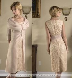 vintage feel, mother of the bride dress. like
