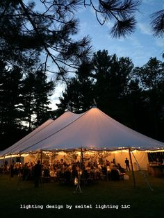 A glowing sailcloth tent in Williamstown. Lighting by Seitel Lighting LLC Wedding Tent Lighting, Tent Wedding, Hammock Balcony, Southern Plantations, Fire Pit Patio, Sailing Outfit, Video Lighting, Backyard For Kids, Summer Diy