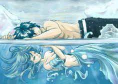 Gray Fullbuster & Juvia Lockser - Fairy Tail
