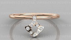 Minimalist Tiny Diamond Solitaire Ring, 14k Rose Gold Dainty Diamond Ring, Gold Stacking Ring, Diamond Solitaire Ring by UmbrellaJewels on Etsy Diamond Solitaire Rings, Round Diamond Ring, Round Diamonds, Herkimer Diamond, Disney Proposal, Proposal Ideas, Romantic Proposal, Gold Promise Rings, Gold Rings