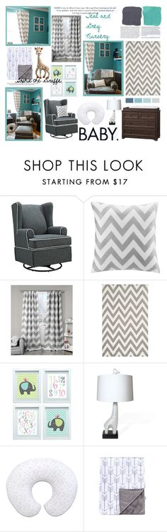 """Teal and Grey"" by cydney91 ❤ liked on Polyvore featuring interior, interiors, interior design, home, home decor, interior decorating, Eddie Bauer, Intelligent Design, Lala + Bash and Safavieh"