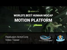 Teaser Reallusion ActorCore - 1 min Speed Review - YouTube 3d Software, Teaser, Youtube, Youtubers, Youtube Movies