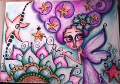 Violet Fairy.Flower Fairies Workshop - dolldreams.ning