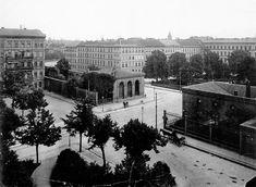 Berlin, Das Neue Tor mit dem Platz vor dem Neuen Tor und dem Luisenplatz, 1905