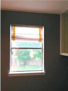 no sew DIY roman shades (with tutorial!)