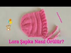 British Style Lora (Loura) Baby Hat Making - Babykleidung Knitted Baby Clothes, Crochet Clothes, Knitted Hats, Baby Knitting Patterns, Crochet Patterns, Crochet Shawl, Crochet Stitches, Sport Model, Baby Hut