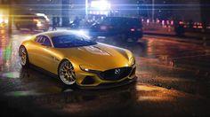 Mazda RX Vision Concept Wallpaper HD Car Wallpapers
