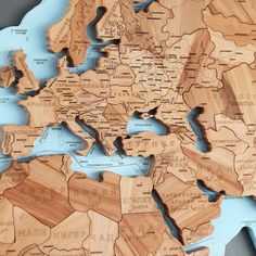 Wooden World Map Puzzles World Map Puzzle, Puzzles, Homeschool, Decor, Maps, World, Puzzle, Riddles, Decorating