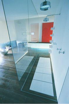 Web Design, Tile Floor, Flooring, Texture, Baths, Showers, Crafts, Surface Finish, Manualidades
