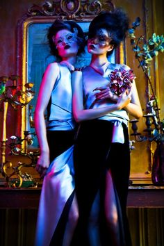 Haute Fairytales:  Pauline Van Der Cruysse & Zhu Lin, L'Officiel China, 2012