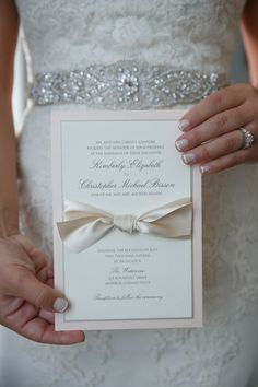 Wedding invitation - Candace Jeffery Photography
