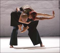 Akram Khan & Sylvie Guillem in 'Sacred Monsters'