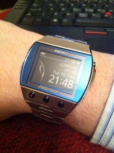 Retro Watches, Vintage Watches, Cool Watches, Watches For Men, Police Watches, Sport Watches, Casio Digital, Digital Watch, Luxury Watches