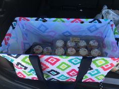 Birthday parties made easy with the Large Utility Tote by Thirty-One! www.thebagdealer.com