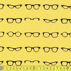 Geekly Chic Glasses Yellow