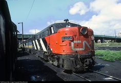 RailPictures.Net Photo: CN 6772 Canadian National Railway MLW FPA4 at Toronto, Ontario, Canada by Marty Bernard