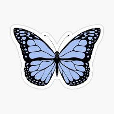 Most people love butterflies especially 5 Karner Blue Butterfly Facts, since they are gorgeous creatures to consider, and they're decorative and make us smile. Butterflies help pollinate plants and flowers, and they're very important to dynamics. Bubble Stickers, Cool Stickers, Printable Stickers, Art Papillon, Papillon Rose, Karner Blue Butterfly, Green Butterfly, Butterfly Wings, Butterfly Facts
