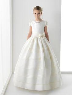 2016 New Fashion White Girls First Communion Dresses Chiffon Floor Length…