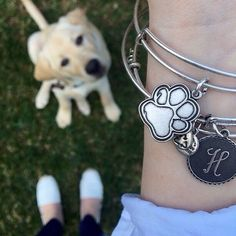 ALEX AND ANI Prints Of Love bangle! CHARITY BY DESIGN #charmedarms