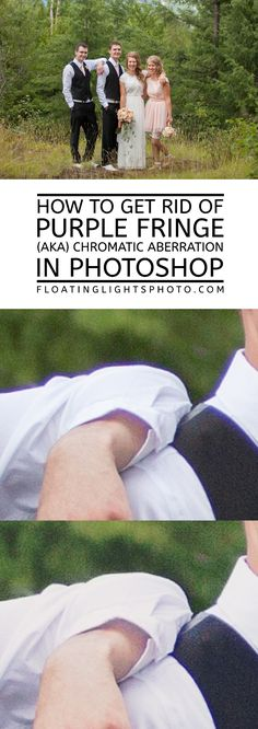 How to get rid of Purple Fringe (AKA Chromatic Aberration) in Photoshop | Focus…