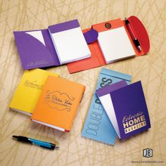 ValueNotes features recycled, wrap paper covers and perforated writing paper for easy note taking on-the-go.