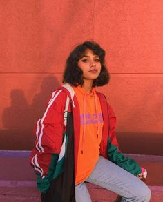 Kinda want a University of Miami jacket Fat Character, Dark Skin Girls, 90s Fashion, Fashion Photo, Fashion Poses, Fashion Ideas, Indian Beauty, Girls Makeup, Model Face