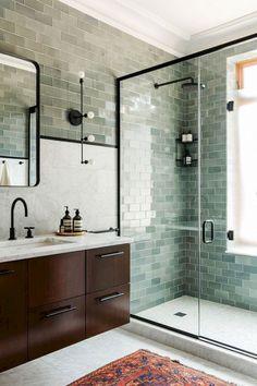 58 Awesome Scandinavian Bathroom Ideas
