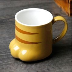 PAW-TY Ceramic Milk Cup Mug Lovely Cat claw Water Cup Novelty Coffee Mug drink cup tea Mugs Glass cup