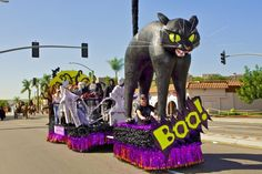 The Boulevard's BOO! Parade & Carnival is a San Diego tradition. So bring the kiddos and get a little bit more use out of those costumes!