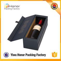 New Technology Luxury Custom Print Folding Wine Gift Book Shape Box Cardboard Single Wine Bottle Packaging Box