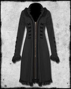 steampunk wear for women | SPIN DOCTOR STEAMPUNK FLORENCE PINSTRIPE DRESS JACKET
