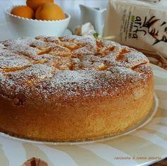 TORTA CON ALBICOCCHE soffice e buonissima Sweet Recipes, Cake Recipes, Biscotti, Healthy Desserts, Vanilla Cake, Tiramisu, Cheesecake, Food And Drink, Sweets