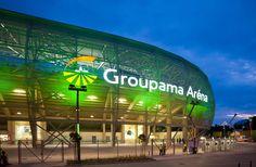 Groupama Aréna kültéri világítás Sports, Hs Sports, Sport