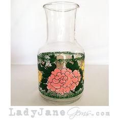 Lady Jane's Gems - Pre-Loved Flower Garden Vase, $20.00 (http://www.ladyjanesgems.com/pre-loved-flower-garden-vase/) #home #house #ladyjanesgems #vintage #retro #shabbychic #petgems #oneofakindfinds #Facebook #Google #Twitter #Tumblr #Pinterest #Instagram #Floral #Floralvase #FL #CA #southerncharm #countryliving #summer #interiordesignblogger #bloggers