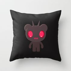 Fizz Throw Pillow by simonfoo - $20.00