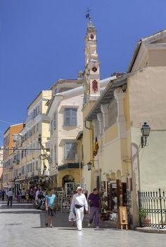 Corfou Island (Kerkyra), Greece Greece Travel, Italy Travel, Places To Travel, Places To See, Places Around The World, Around The Worlds, Corfu Town, Corfu Island, Places In Greece