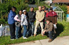 Voss greenhouse workshop group